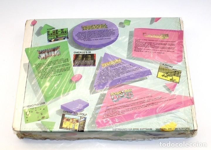 Videojuegos y Consolas: ERBE 88 - PACK DE 5 JUEGOS - NUEVO Y PRECINTADO - SPECTRUM - CASSETTE - Foto 4 - 182011593