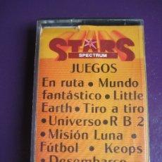 Videojuegos y Consolas: STARS SPECTRUM Nº5 - EN RUTA - MUNDO FANTASTICO - LITTLE EARTH - TIRO A TIRO - ETC. Lote 182821333