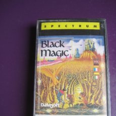 Videojuegos y Consolas: BLACK MAGIC CASETE SPECTRUM PRECINTADA - DATASOFT - ERBE SOFTWARE . Lote 182822413