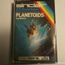Videojuegos y Consolas: JUEGO PLANETOIDS-ZX SPECTRUM 16K O 48K. Lote 183431593