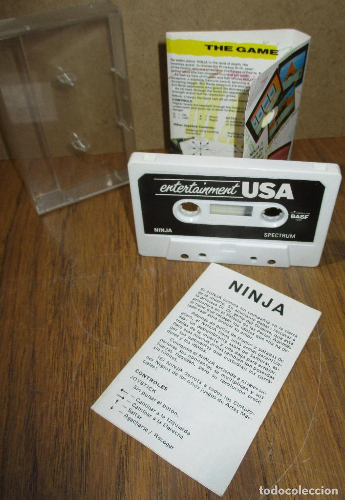 Videojuegos y Consolas: Juego SPECTRUM, NINJA - Foto 2 - 183733006