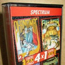 Jeux Vidéo et Consoles: JUEGO SPECTRUM 4X1, PHANTOMAS II, CAMELOT, ABU SIMBEL, COBRAS. Lote 183733202