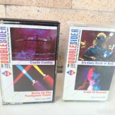 Videojuegos y Consolas: JUEGOS SPECTRUM 48K CASTLE COLDITZ, BATTLE OF TOOTHPASTE TUBES, I'TS ONLY ROCK 'N ROLL, TOMB DRACULA. Lote 184580977