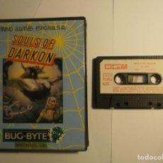 Videojuegos y Consolas: JUEGO SOULS OF DARKON-MIND GAMES ESPAÑA-SPECTRUM. Lote 185294976