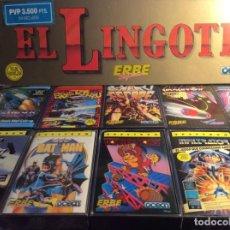 Videojuegos y Consolas: SPECTRUM ERBE ¡¡¡ EL LINGOTE !!! 10 CINTAS ¡¡NUEVO!! (VER FOTOS). Lote 186180555