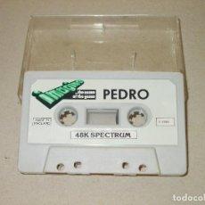 Videogiochi e Consoli: JUEGO SPECTRUM. PEDRO. IMAGINE. Lote 186308166