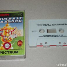 Jeux Vidéo et Consoles: JUEGO SPECTRUM. FOOTBALL MANAGER ADDICTIVE GAMES. Lote 186334752