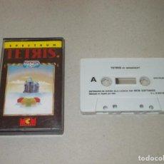 Videojuegos y Consolas: JUEGO SPECTRUM. TETRIS. MIRROR SOFT / MCM. LOMO ROSA. Lote 186340635