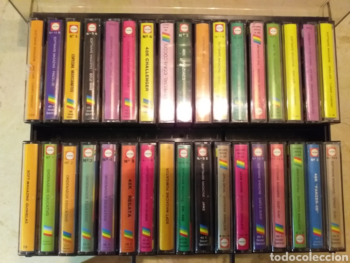 Videojuegos y Consolas: Casettes spectrum juego - Foto 2 - 187374647