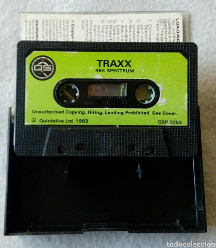 Videojuegos y Consolas: Traxx juego para spectrum - Foto 2 - 189211203