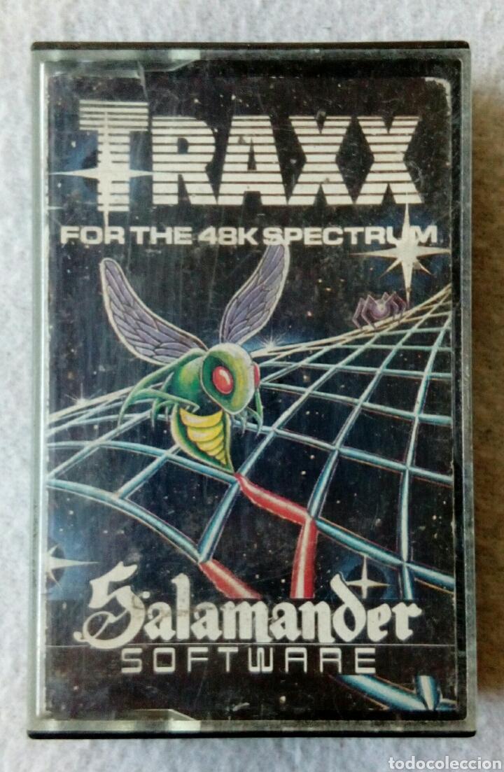 TRAXX JUEGO PARA SPECTRUM (Juguetes - Videojuegos y Consolas - Spectrum)