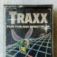 Videojuegos y Consolas: TRAXX JUEGO PARA SPECTRUM. Lote 189211203