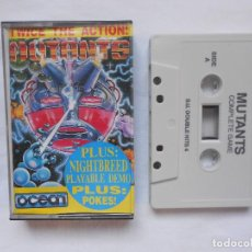 Videojuegos y Consolas: CINTA CASSETTE S.U. DOUBLE HITS Nº 4 JUEGOS COMPLETOS Y DEMOS ZX SPECTRUM. Lote 189216560