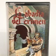 Jeux Vidéo et Consoles: SPECTRUM- LA ABADÍA DEL CRIMEN - VIDEO JUEGO CONSOLA - ÓPERA SOFT. Lote 189880472