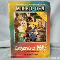 Videojuegos y Consolas: SPECTRUM 48K - EVERYONES A WALLY - MIKRO-GEN ORIGINAL 1985 + REGALO PARA ACABARLO. Lote 190225651