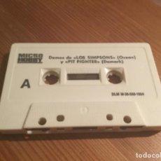 Videojuegos y Consolas: CINTA DEMOS MICRO HOBBY. Lote 190554905