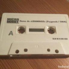 Videojuegos y Consolas: CINTA DEMOS MICRO HOBBY. Lote 190555422