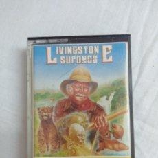 Videojogos e Consolas: CASETE SPECTRUM/LIVINGSTONE SUPONGO.. Lote 190989580
