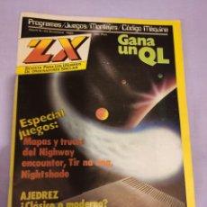 Videojuegos y Consolas: REVISTA ZX PARA LOS USUARIOS DE ORDENADORES SINCLAIR SPECTRUM - NÚMERO 25 . DICIEMBRE 1985. Lote 191008036