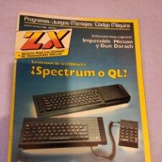 Videojuegos y Consolas: REVISTA ZX PARA LOS USUARIOS DE ORDENADORES SINCLAIR SPECTRUM - NÚMERO 26 . ENERO 1986. Lote 191008293