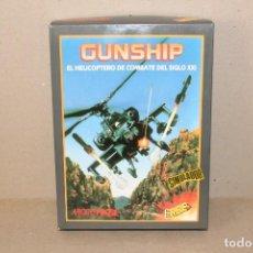Videojuegos y Consolas: SPECTRUM. ERBE: GUNSHIP (SIMULADOR DE HELICOPTERO) COMPLETO + CINTA DEMO -- CAJA GRANDE. Lote 191196112