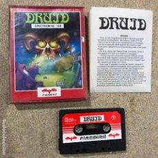 Videojuegos y Consolas: DRUID BY FIREBIRD PARA SINCLAIR ZX SPECTRUM - RARO. Lote 191537573