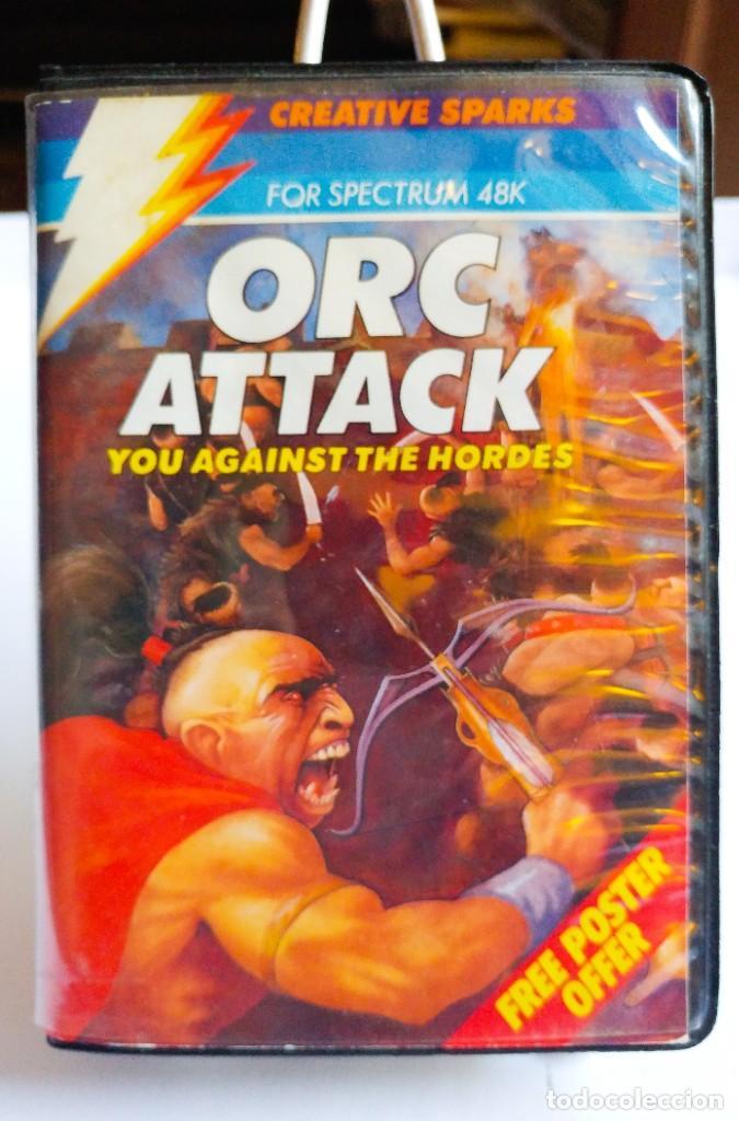 JUEGO ORC ATTACK SPECTRUM CINTA. AÑO 1984 (Juguetes - Videojuegos y Consolas - Spectrum)