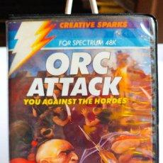 Videojuegos y Consolas: JUEGO ORC ATTACK SPECTRUM CINTA. AÑO 1984. Lote 191538892