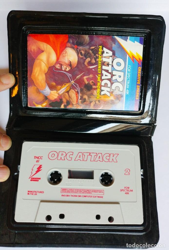 Videojuegos y Consolas: JUEGO ORC ATTACK SPECTRUM CINTA. AÑO 1984 - Foto 3 - 191538892