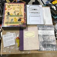 Videojuegos y Consolas: NIGHT SHIFT PARA SPECTRUM - LUCASFILMS - RARO. Lote 191657753