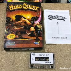 Videojuegos y Consolas: JUEGO SPECTRUM HERO QUEST/ HEROQUEST 48K DRO SOFT - EN CASTELLANO. Lote 191658102