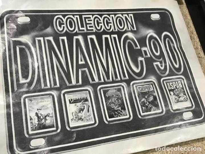 Videojuegos y Consolas: COLECCION DINAMIC 90 PARA SPECTRUM JUEGOS: ASPAR G.P. MASTER - NAVY MOVES - RESCATE ATLANTIDA - Foto 3 - 191747770