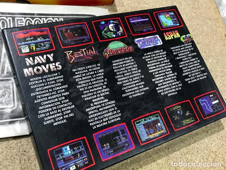 Videojuegos y Consolas: COLECCION DINAMIC 90 PARA SPECTRUM JUEGOS: ASPAR G.P. MASTER - NAVY MOVES - RESCATE ATLANTIDA - Foto 5 - 191747770