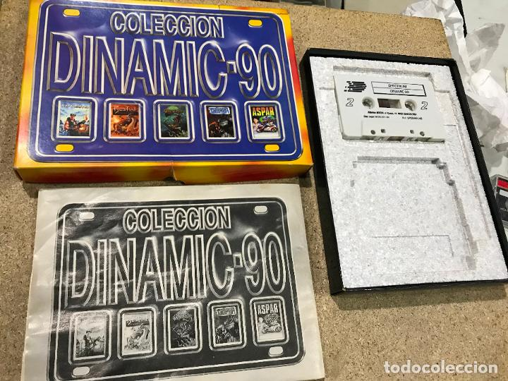 COLECCION DINAMIC 90 PARA SPECTRUM JUEGOS: ASPAR G.P. MASTER - NAVY MOVES - RESCATE ATLANTIDA (Juguetes - Videojuegos y Consolas - Spectrum)