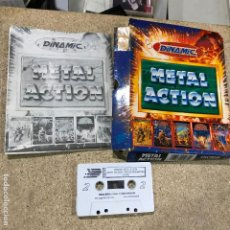 Videojuegos y Consolas: METAL ACTION [DINAMIC SOFT 1990 ZX SPECTRUM] AFTER THE WAR,AMC,SATAN,AVENTURA ORIGINAL,FREDDYH IN MS. Lote 191748200