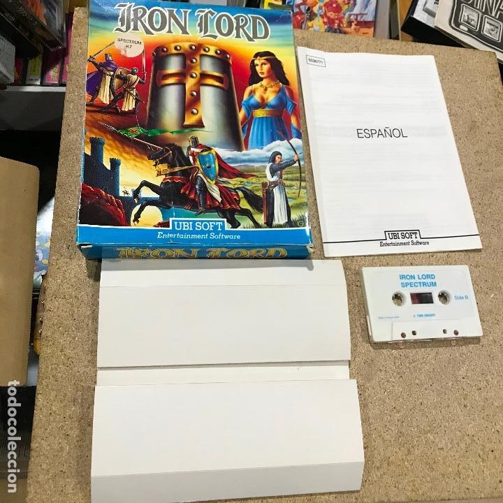 Videojuegos y Consolas: JUEGO SPECTRUM IRON LORD.UBI SOFT.1990. - manual en castellano - Foto 2 - 191748666