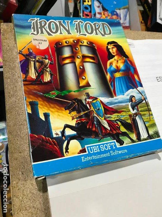 Videojuegos y Consolas: JUEGO SPECTRUM IRON LORD.UBI SOFT.1990. - manual en castellano - Foto 3 - 191748666