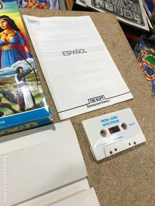 Videojuegos y Consolas: JUEGO SPECTRUM IRON LORD.UBI SOFT.1990. - manual en castellano - Foto 4 - 191748666