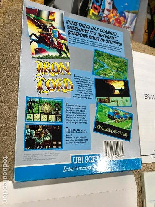 Videojuegos y Consolas: JUEGO SPECTRUM IRON LORD.UBI SOFT.1990. - manual en castellano - Foto 7 - 191748666