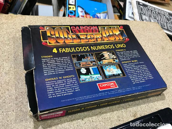 Videojuegos y Consolas: Juego spectrum, Capcom collection by u. S. Gold, strider I y II, dynasty.... - Foto 3 - 191842800