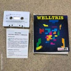 Videojuegos y Consolas: ZX SPECTRUM WELLTRIS - SECUELA DE TETRIS - RARO. Lote 191843538