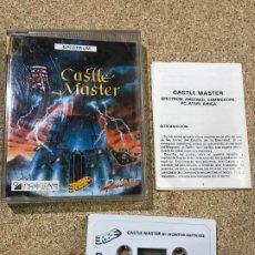 Videojuegos y Consolas: JUEGO DE SPECTRUM: CASTLE MASTER - RARO. Lote 191846393