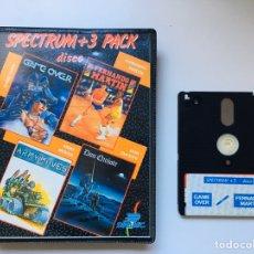 Videojuegos y Consolas: SPECTRUM +3 PACK DISCO. Lote 192621408