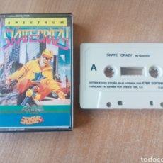 Videojuegos y Consolas: SKATE CRAZY-SPECTRUM. Lote 193240741