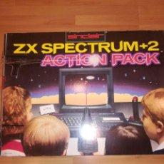 Jeux Vidéo et Consoles: COMPLETO Y NUEVO ORDENADOR SINCLAIR ZX SPECTRUM + 2 ACTION PACK. INCLUYE LIBRO DE INSTRUCCIONES. Lote 193561022