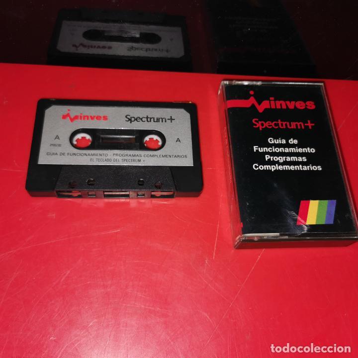 CINTA ORIGINAL PARA SPECTRUM GUIA DE FUNCIONAMIENTO - PROGRAMA COMPLEMENTARIOS - DEF. DE GRAFICOS (Juguetes - Videojuegos y Consolas - Spectrum)