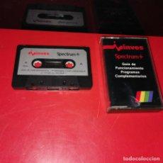 Videojuegos y Consolas: CINTA ORIGINAL PARA SPECTRUM GUIA DE FUNCIONAMIENTO - PROGRAMA COMPLEMENTARIOS - DEF. DE GRAFICOS. Lote 193700410