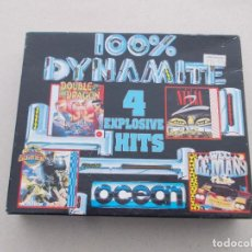 Jeux Vidéo et Consoles: JUEGOS SPECTRUM. 100% DYNAMITE. PACK INGLES. 4 JUEGOS.. Lote 194179762