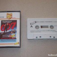 Videojuegos y Consolas: JUEGO SPECTRUM. 007 CON LICENCIA PARA MATAR. DOMARK / ERBE / MUSICAL 1. Lote 194193495