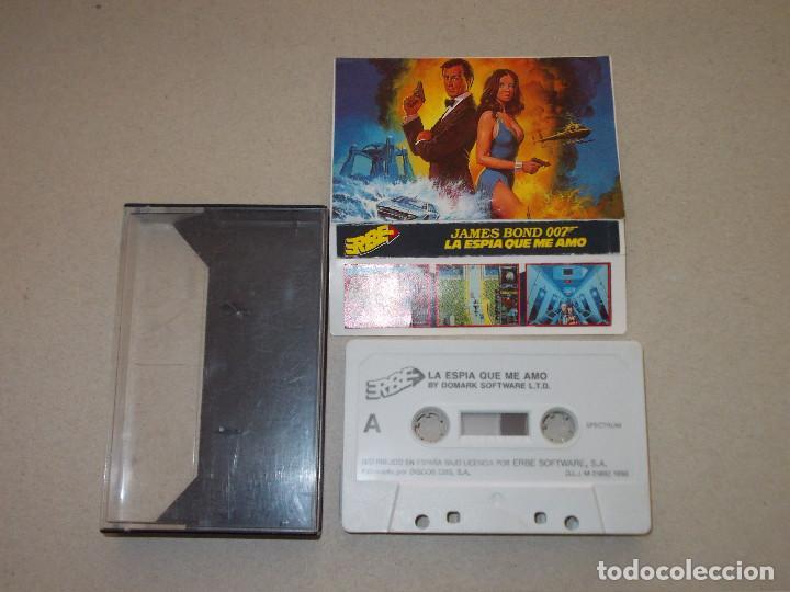 JUEGO SPECTRUM. 007 LA ESPIA QUE ME AMO. DOMARK / ERBE (Juguetes - Videojuegos y Consolas - Spectrum)